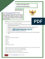 Latihan Cpns Tkp 20131