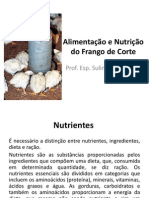 Alimentação e Nutrição Do Frango de Corte