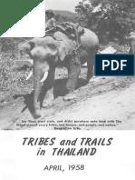 TribesandTrails 1958 Thailand