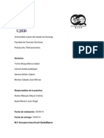 Química Analítica Instrumental II. Práctica No. 1.RefractometrÍa