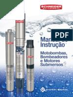 Manual de Instruções Motobombas, Motores e Bombeadores Submersos