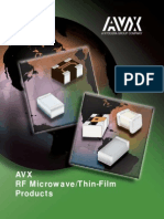 Avx Rf Microwave Thin Film