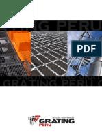 Catalogo de Rejillas Metalicas Grating Peru SAC