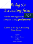 Amazing Facts About Big 4 Accounting Firms