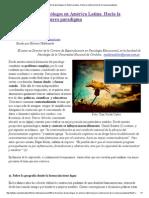 La Formación de Psicólogos en América Latina