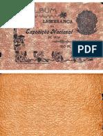 Álbum Lembrança da Exposição Nacional de 1908 Rio de Janeiro
