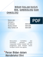 Peran Bidan Dalam Kasus Endokrin, Ginekologi Dan