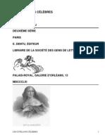Les cotillons célèbresDeuxième Série by Gaboriau, Émile, 1832-1873