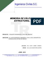 Memoria Vista Del Bosque Estructural