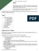 Códigos en Neumáticos - Wikipedia, La Enciclopedia Libre