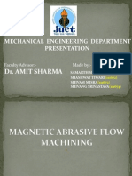 Magnetic Abrasive Flow Machining