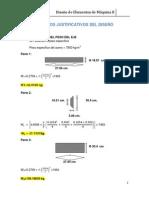 Calculos Justificativos Del Diseñossxx