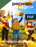 Brochure de Collecte de Fonds Tupperware 2014-2015