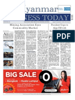 Myanmar Business Today - Vol 2, Issue 34