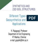 Gsr soil reinforcement