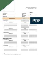 OPCW-CMT-05F6 Inspector's Checklist Form (Housing)2