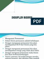 2. Disiplin Bisnis