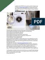 Dịch Vụ Sửa Chữa Máy Giặt Electrolux EWP85752
