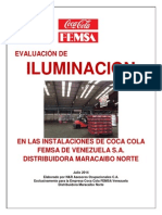 Informe Estudio de Iluminacion Distribuidora MARACAIBO NORTE