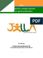Taller - Estudios Literarios y Estudios Culturales