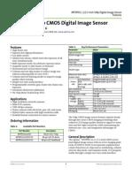 Aptina Mt9p031 sensor