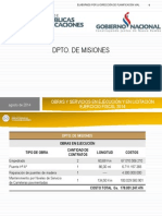 MOPC PPT Obras Misiones