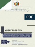 presentacion Evaluacion PDMS