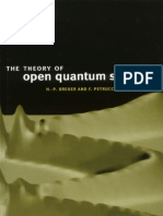 Theory open Quantum System