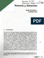 Angel Fernández, Emiliano Díez - Memoria y Distorción
