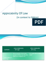 [Applicability of Law] & Issue of Bonus Shares