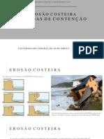 Medidas de Contenção Erosão Costeira