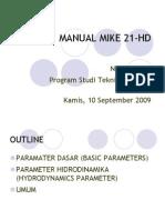 Manual Mike 21-Hd
