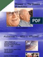 Alzheimer Ppt