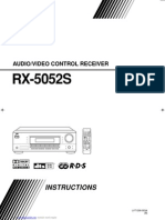 Jvc Rx 5052s