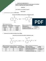 Informe N° 2 Determinacion del contenido de acido acetilsalicilico en una tablata de aspirina