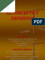 El Concepto y Definicion Parte II Logica.