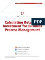 CalculatingROI for BPM