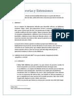 LIBRERIAS Y EXTENSIONES.docx