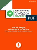 Análisis Integral Del Secuestro en México 2014