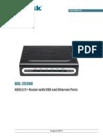 Dsl-2520u Manual En