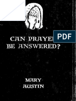 Can Prayer Be Answered?
