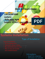 ec501 operating systems