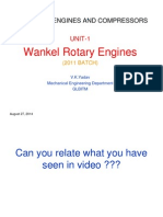 Wankel Rotary Engines