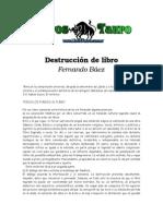 DESTRUCCIÓN   DE   LIBROS   .doc