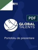 Mapa Global Talents Galati