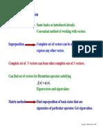 Vectors, Matrix Transormations, Dirac Notation