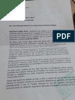 Carta de Santiago Uribe Al Fiscal General