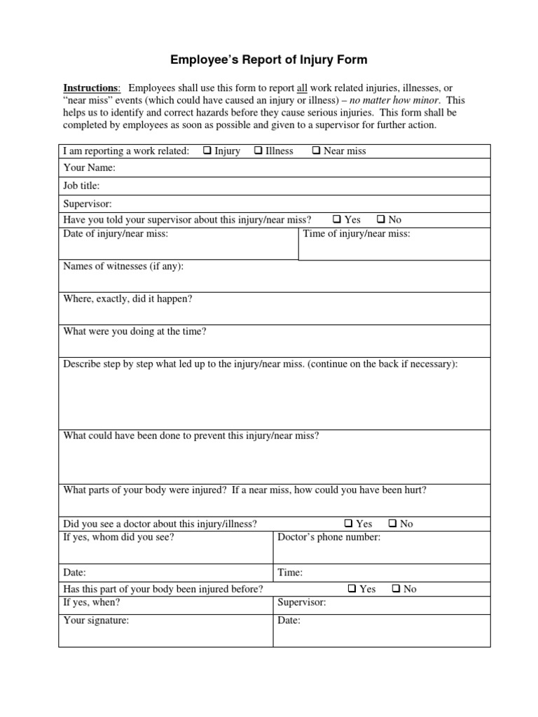 3 Accident Investigation Form