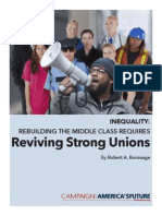 Rebuilding the Middle Class Requires Reviving Strong Unions