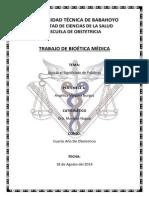 Trabajo de Bioética Angélica Vergara